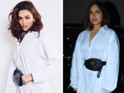 Deepika Padukone or Bhumi Pednekar - Styling a white shirt in two refreshing ways