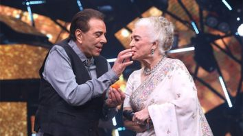 Dharmendra and Asha Parekh reunite to celebrate 60 years in the Indian film industry