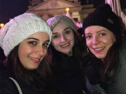 Evelyn Sharma enjoys the German Christmas markets with her family