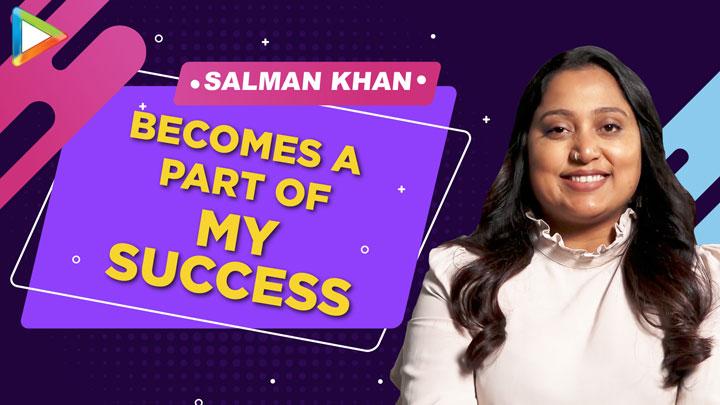 Every time, Salman Khan becomes a part of my SUCCESS Shabina Khan on Dabangg 3 Hud Hud Dabangg