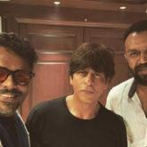 Shah Rukh Khan meets Malayalam filmmaker Aashiq Abu at Mannat. A new film in the cards?