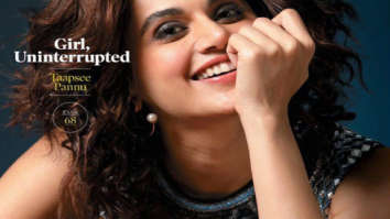 Taapsee Pannu on the cover of Forbes, Jan 2020