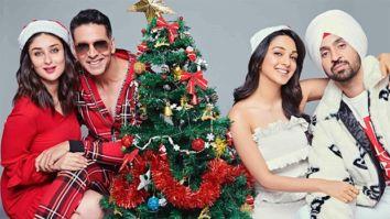 Good Newwz: Akshay Kumar, Kareena Kapoor Khan, Diljit Dosanjh, Kiara Advani get into Christmas spirit