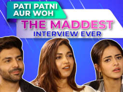 HOLD YOUR LAUGHTER - Kartik, Ananya & Bhumi's CRAZY Interview Quiz, Rapid Fire & 5 Second Challenge