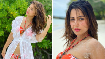 Hina Khan breaks in the internet in these stunning bikini photos from her Maldives vacation