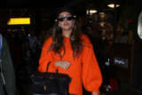 Huma Qureshi spotted at Mumbai airport