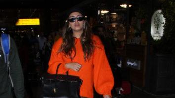 Huma Qureshi spotted at Mumbai airport