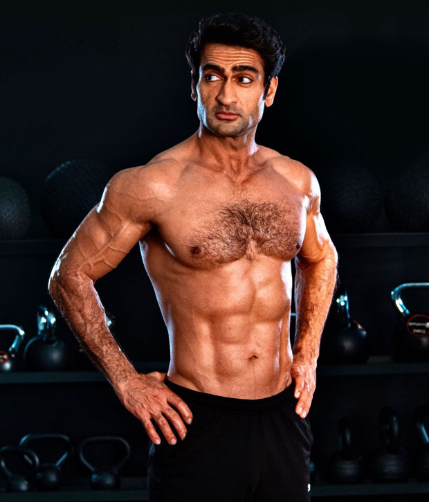 Kumail Nanjiani flaunts his ab-tastic body, undergoes insane transformation for Marvel's The Eternals