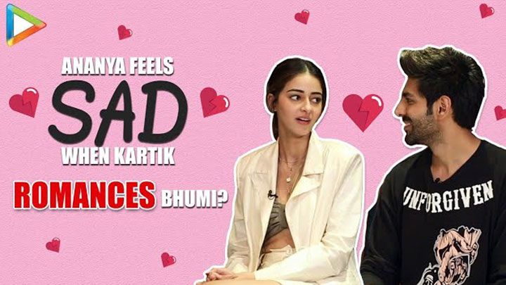 Lit Chat With Kartik Aaryan and Ananya Panday Pati Patni Aur Woh Weird Headlines