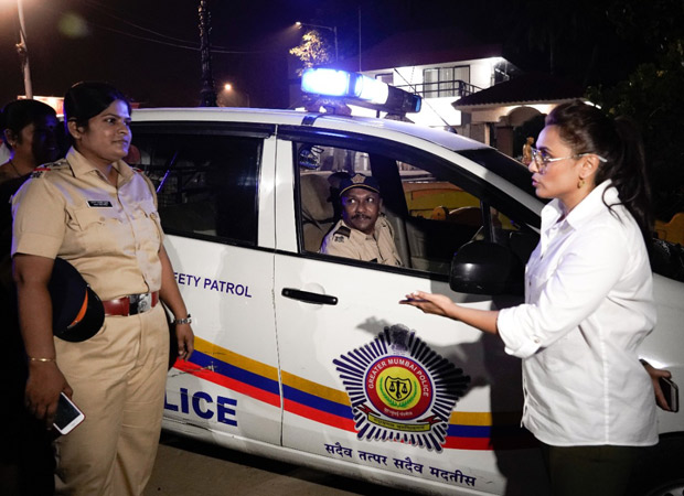 Mardaani 2 Rani Mukerji meets special Night Patrol Police to discuss women's safety