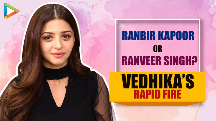 "PRABHAS- Macho , SRK- Lover Boy, SEXIEST actress is…"" Vedhika Rapid Fire Salman"