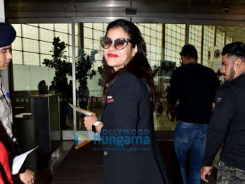 Photos: Ajay Devgn, Kajol, Saif Ali Khan and others snapped at the airport