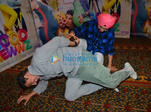 Photos Akshay Kumar, Kareena Kapoor Khan, Kiara Advani and Diljit Dosanjh snapped promoting their film Good Newwz (3)