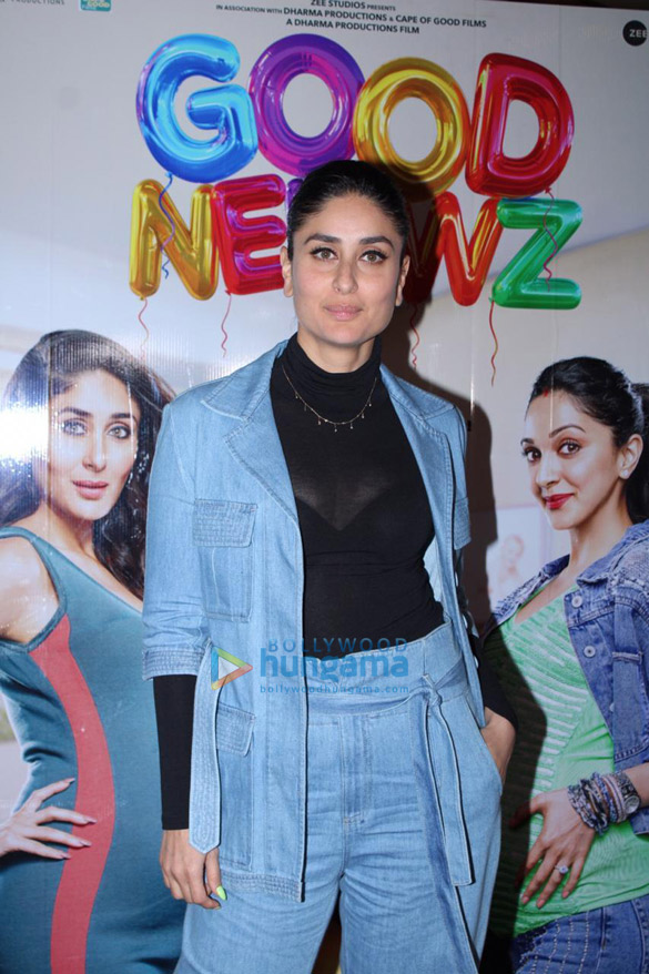 Photos Akshay Kumar, Kareena Kapoor Khan, Kiara Advani and Diljit Dosanjh snapped promoting their film Good Newwz (8)
