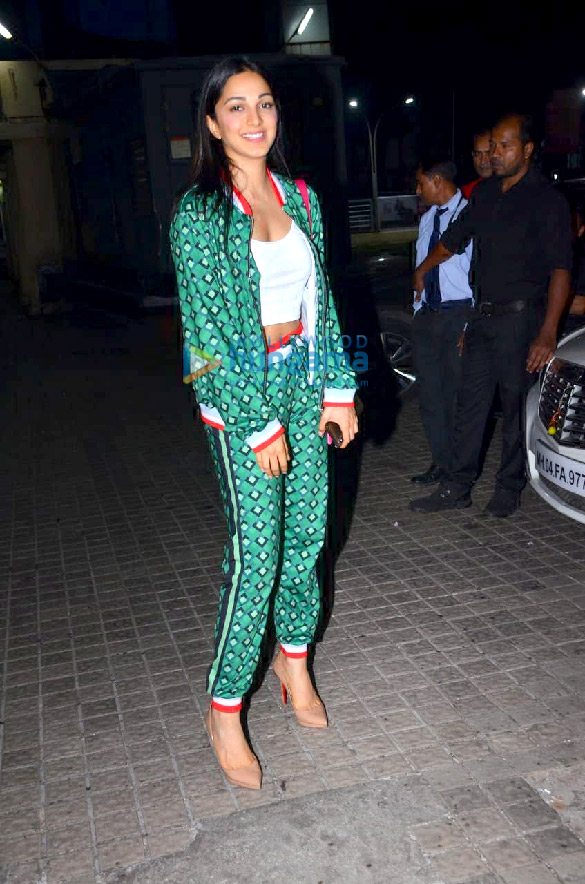 Photos Ananya Panday, Kiara Advani, Diljit Dosanjh and others grace the special screening of Good Newwz at PVR Juhu (2)