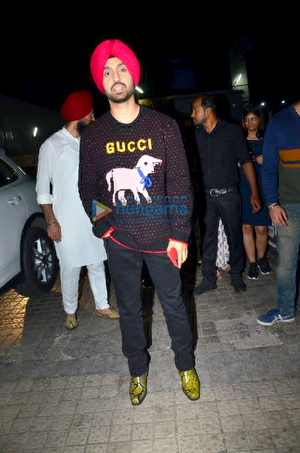 Photos Ananya Panday, Kiara Advani, Diljit Dosanjh and others grace the special screening of Good Newwz at PVR Juhu (3)