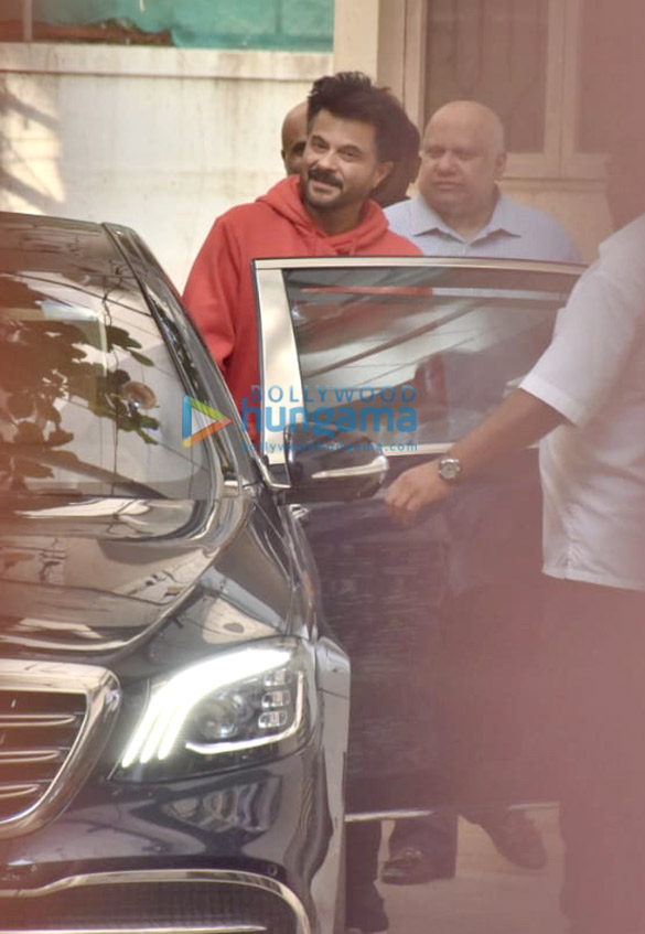 Photos Anil Kapoor snapped at a dubbing studio in Juhu (1)