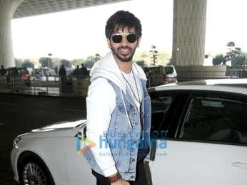 Photos: Arjun Kapoor, Raveena Tandon, Vardhan Puri, Yuvraj Singh and Hazel Keech snapped at the airport