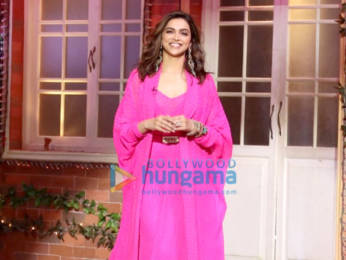 Photos: Deepika Padukone snapped on the sets of The Kapil Sharma Show