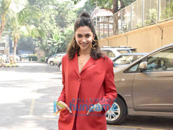 Photos: Deepika Padukone snapped promoting her film Chhapaak