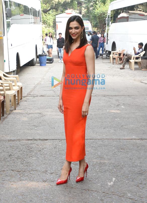 Photos: Deepika Padukone spotted for Dance Plus 5 shoot at Filmistan Studio, Goregaon