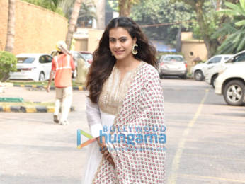 Photos: Kajol snapped during Tanhaji - The Unsung Warrior promotions