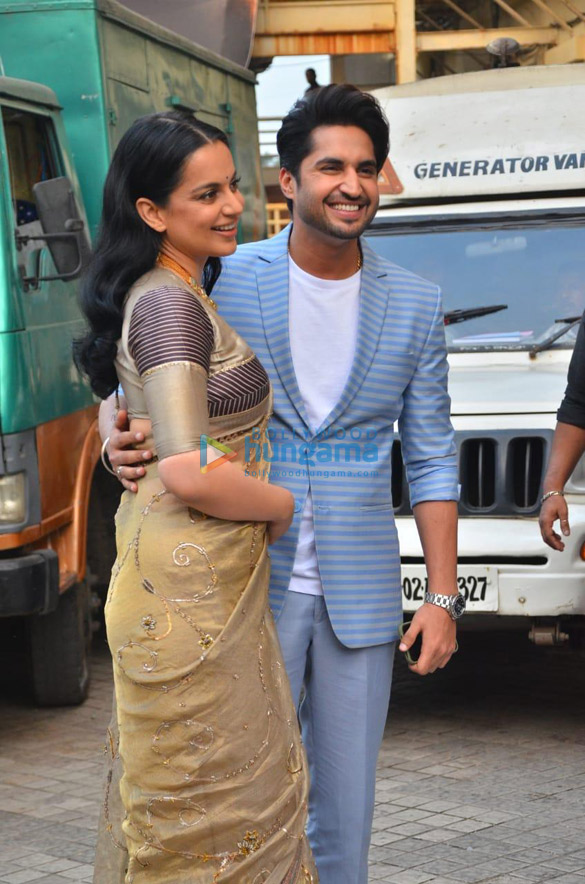 Photos Kangana Ranaut, Jassie Gill and others grace the trailer launch of Panga (7)