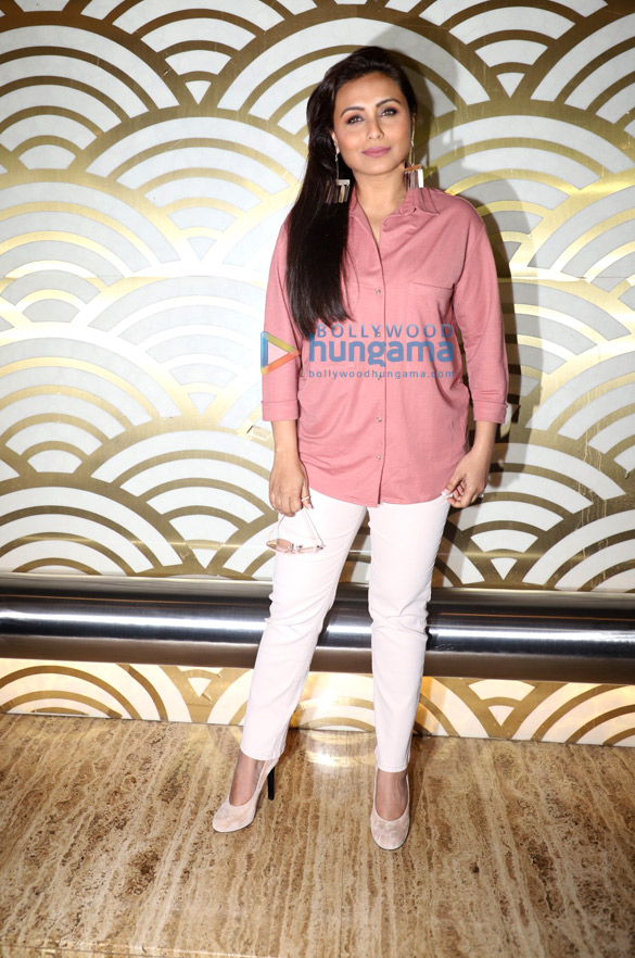 Photos Rani Mukerji hosts a special screening of Mardaani 2 for Mumbai Police officers (3)