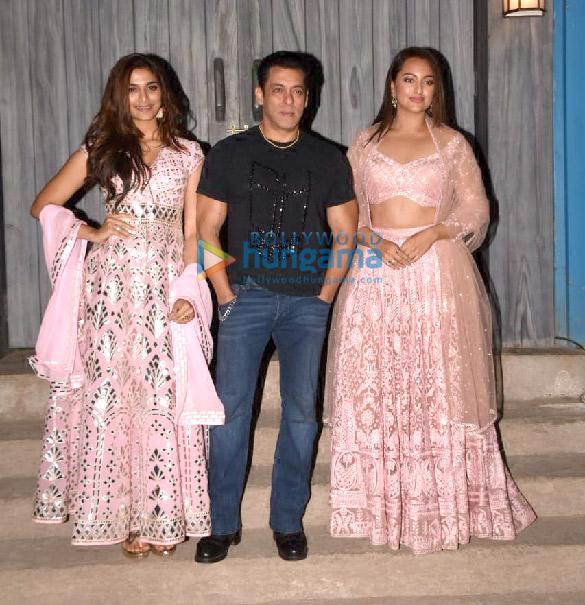 Photos: Salman Khan, Sonakshi Sinha, Saiee Manjrekar and Prabhu Dheva spotted on the sets of Bigg Boss