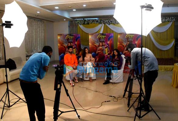 Photos Sunny Kaushal and Rukshar Dhillon snapped promoting their movie Bhangra Paa Le (3)