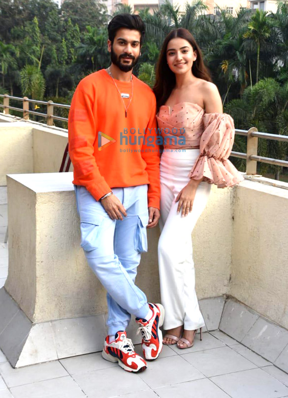 Photos Sunny Kaushal and Rukshar Dhillon snapped promoting their movie Bhangra Paa Le (6)