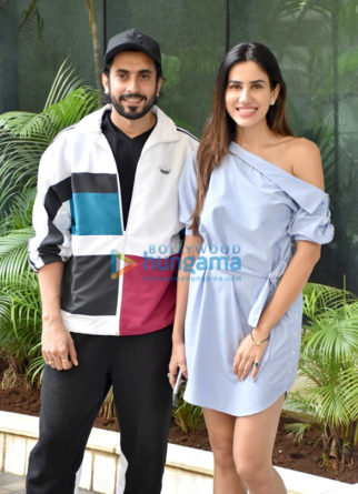 Photos: Sunny Singh Nijjar and Sonnalli Seygall snapped at Luv Films' office