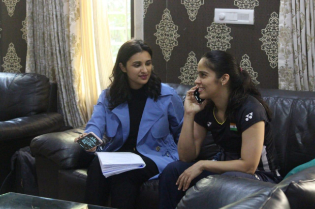 Saina Nehwal is all praises for Parineeti Chopra