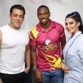 Salman Khan and Jacqueline Fernandez hang out with Yohan Blake