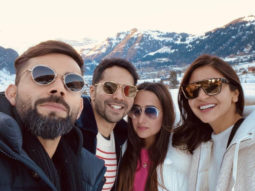Sui Dhaaga Reunion! Varun Dhawan and Anushka Sharma holiday in Switzerland with their respective better halves