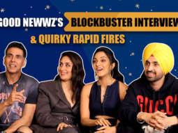 Team Good Newwz's Most Entertaining Interview Crazy Quiz & Rapid Fire Akshay, Kiara, Kareena