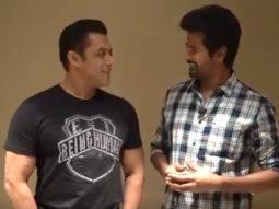 VIDEO Salman Khan promotes Hero while Siva Karthikeyan promotes Dabangg 3, making the fans go crazy!