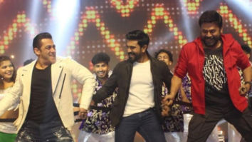 WATCH VIDEO: Salman Khan grooves with Ram Charan and Venkatesh on 'Munna Badnaam Hua'