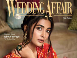Pooja Hegde on the cover of Wedding Affair, Dec 2019