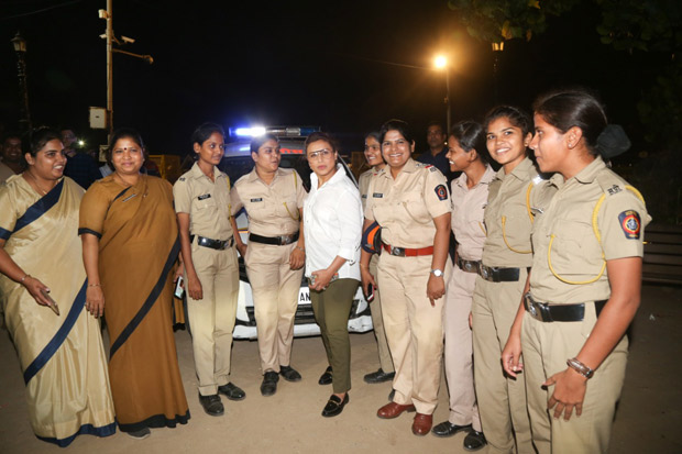 Mardaani 2: Rani Mukerji meets special Night Patrol Police to discuss women's safety