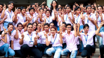 Manushi Chhillar lends her support to young girls, says self-reliance is the key to equality in society