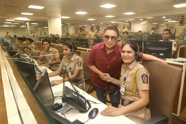 Rani Mukerji hosts the first screening of Mardaani 2 for police officers