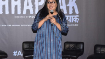 Chhapaak Trailer Launch: Meghna Gulzar says acid attack survivors have full-fledged roles in the film