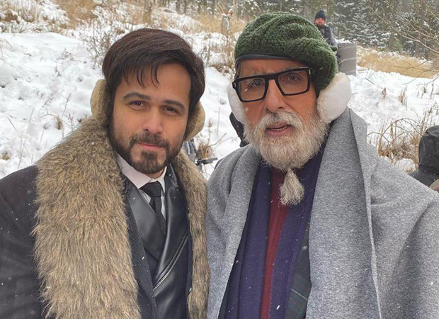 Chehre: Amitabh Bachchan, Emraan Hashmi wrap the Slovakia schedule