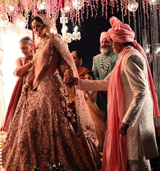 Amitabh Bachchan and Jaya Bachchan become parents to Katrina Kaif for this wedding shoot, Nagarjuna joins in