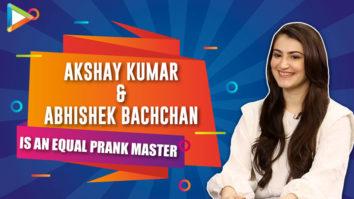 "Because of Akshay Kumar, we all AD's CRIED…"" Shivaleeka Abhishek Bachchan Vidyut Jammwal"
