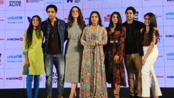 Bhumi Pednekar snapped at the launch of MTV Nishedh initiative
