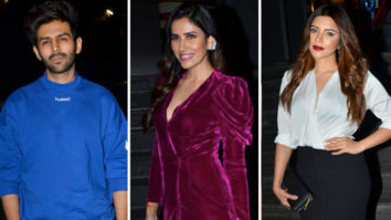 Celebs attend the special screening of the movie Jai Mummy Di