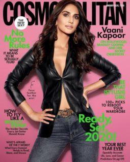 Vaani Kapoor On The Covers Of Cosmopolitan