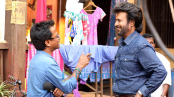On the Sets Of The Movie Darbar